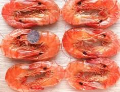 特级烘干海虾、烤虾对虾礼盒,海鲜干货,即食零食特产